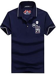 Homme Tee-shirt Respirable Séchage rapide Eté Blanc Gris Bleu Foncé