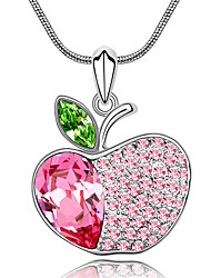 Femme Pendentif de collier Cristal Bijoux Pendant Bijoux Pour