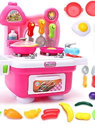 Pretend Play Toy Kitchen Sets Toy Foods Toys PVC Boys' Girls'