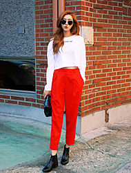 Korea stylenanda bright solid color fashion casual pants casual pants harem pants female hook