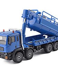 Veiculo de Construção Carrinhos de Fricção Brinquedos de carro 01:50 Metal Modelo e Blocos de Construção