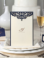 Personalized Flat Card Wedding InvitationsWedding Menu Invitation Cards Thank You Cards Response Cards Invitation Sample Greeting Cards