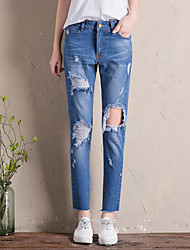 Jeans&L'enfant en calinette de S était mince banderoles en Europe, chanson longue, pantalons Halun, pantalon, marée de printemps