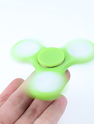 Fidget Spinner Hand Spinner Toys Tri-Spinner ABS EDCLED light Office Desk Toys Relieves ADD, ADHD, Anxiety, Autism for Killing Time Focus