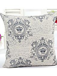 1 Pcs  crown  Decorative Pillow Cover