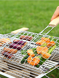 The Wire Grill BBQ Barbecue Grilled Fish Clip To Outdoor Barbecue Pits