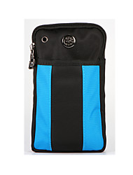 For Wallet Shockproof Case Pouch Bag Case Solid Color Soft Textile for Universal Other