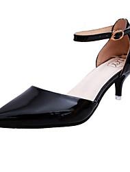 Women's Heels Summer T-Strap Leatherette Outdoor Party & Evening Dress Stiletto Heel Buckle Walking
