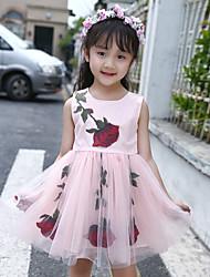 Girl's Fashion And Lovely Joker Pure Color Aesthetic Hook Flower Big Bowknot Is Bitter Fleabane Bitter Fleabane Princess Dress