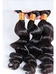 Cheap Price Brazilian Hair 3 pcs/ lot Free Shipping, 3 Bundles Brazilian Loose Wave Virgin HairBrazilian Remy Hair