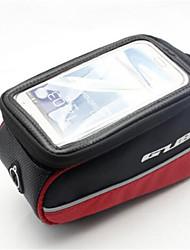 Borsa da biciBag Cell Phone Marsupio triangolare da telaio bici Schermo touch Marsupio da bici PVC Polyester Borsa da bici Ciclismo