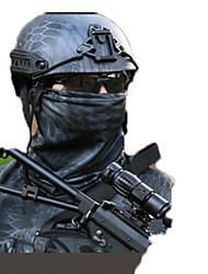 Unisexe cache-col/Tour de Cou Chasse Sport de détente Pare-vent Vestimentaire Protectif Printemps Automne Hiver Noir