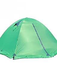 3-4 Pessoas Duplo Um Quarto Barraca de acampamentoVerde Azul Laranja
