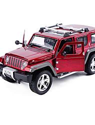 Bauernhoffahrzeuge Aufziehbare Fahrzeuge Auto Spielzeug 1:25 Metall Rot Schwarz Orange Model & Building Toy