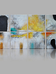 IARTS Modern Abstract Fog Color Pieces Set of 8 Art Acrylic Canvas Wall Art For Home Decoration