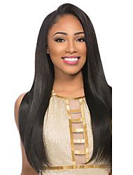 seda reta perucas de cabelo humano laço 10-26inch Remy cabelo completamente perucas para mulheres