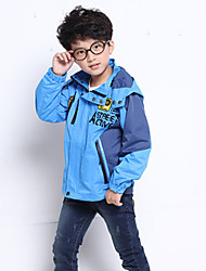 Boys' Solid Jacket & Coat Winter Fall