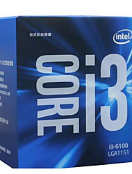 Intel 3,70 GHz core di cache i3-6100 3m