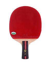 1 звезда Ping Pang/Настольный теннис Ракетки Ping Pang Дерево Короткая рукоятка Прыщи