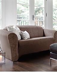 URBANLIFE Stretch Pique Shorty Studio Sized Sofa Slipcover Damask