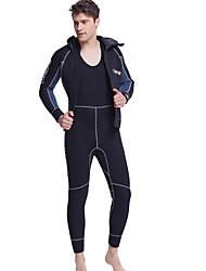 Esportivo Homens 5mm Macacão de Mergulho Longo Respirável Secagem Rápida Design Anatômico Neoprene Fato de Mergulho Manga CompridaRoupas