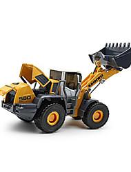 Veiculo de Construção Brinquedos Brinquedos de carro 01:50 Metal Plástico Amarelo Modelo e Blocos de Construção