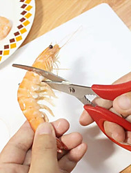 Peel Shrimp Artifact Im Cutting Shrimp Scissors Line Cleaning Shrimp Dried Small Shrimps Shrimp Gu Arc Kitchen Scissors Cut Cut Open The Stomach