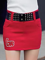2017 printemps et été mode nouveau coréen cultivant jupes sauvages jupe jupe jupe jupe hanche marée féminine