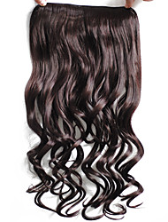 Clip In Synthetic Hair Extensions 50g Hair Extension Black Hair Extension