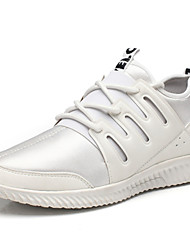 Men's  Spring Summer Comfort Light Soles Fabric Outdoor Athletic Casual Flat Heel Lace-up Running Shoes