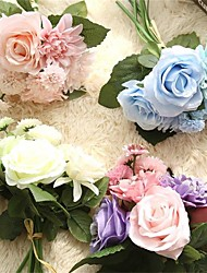 8.0 8.0 Une succursale Autres Roses Pivoines Marguerites Fleur de Table Fleurs artificielles 9.5*9.5  5*5