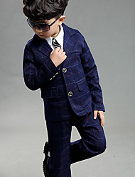 Boys' Formal Going out Casual/Daily Geometric Sets,Cotton Spring Clothing Set