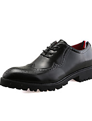 Men's Oxfords Spring Summer Formal Shoes Bullock shoes PU Microfibre Office & Career Party & Evening Casual Flat Heel Gore