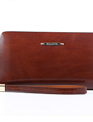 Men Cowhide Formal Clutch