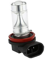 Sencart 2pcs h8 pgj191 8x3535smd blanc / rouge / jaune feux anti-brouillard ampoules de phare ac / dc9-30v
