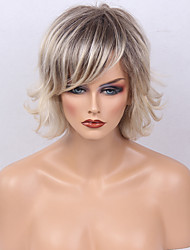 Ombre Wig&silk Short Natural Straight Capless Cap Human Hair Wig For Women 2017