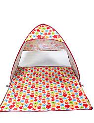2 Pessoas Tenda Único Tenda Automática Um Quarto Barraca de acampamento Aço Inoxidável Portátil-Campismo Viajar