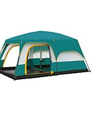> 8 pessoas Duplo Dois Quartos com Vestíbulo Barraca de acampamentoCampismo Viajar