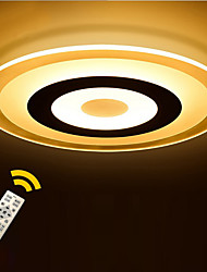 Round LED Acrylic The Bedroom Light Stepless Dimming Sitting Room Lights Remote Control Diameter 42cm
