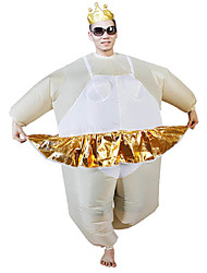 Costumes de Cosplay Pour Halloween Bal Masqué Costume Gonflable Cosplay Cosplay de Film Collant/Combinaison VentilateurHalloween Noël