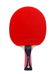 5 Звезд Ping Pang/Настольный теннис Ракетки Ping Pang Дерево Длинная рукоятка Прыщи