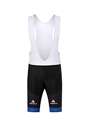 Cycling Shorts Men's Bike Bib Shorts Compression 3D Pad Polyester Cycling/Bike Spring Summer Fall/Autumn White Black