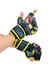 Sports Gloves for Leisure Sports Boxing Martial art Fitness Fingerless Gloves Shockproof Wearproof High Elasticity Protective