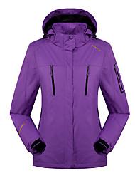LEIBINDI®Women's Winter Jacket 3-in-1 Jackets Skiing Camping / Hiking Snowsports  Waterproof Breathable Thermal / Warm Windproof