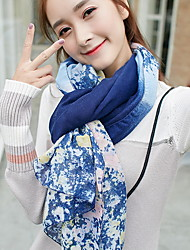 Korea Cotton and Linen Retro Scarf Shawl Thin Long Rectangle Women's Beach UV Sunscreen Bohemia