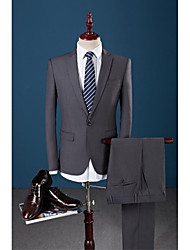 Suits Slim Fit Polyester