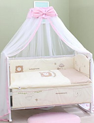 Baby Bed Nets Foldable Floor Type Mosquito Nets Bracket Installation
