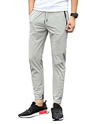 Men's Low Rise Micro-elastic Chinos Pants,Street chic Active Vintage Slim Solid