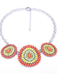 Mulheres Colares com Pendentes Formato Oval Original Moda Jóias Para Aniversário Diário