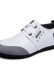 Herren-Sneakers Frühjahr Mokassin Komfort Leder lässig